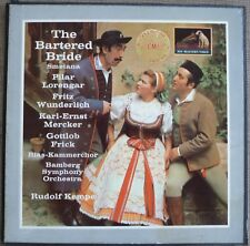 THE BARTERED BRIDE Smetana 3 x LP Box Set + insert  UK HMV ASD 522 / 4  Kempe