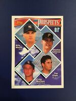 1994 Topps # 79 BILLY MASSE-CAMERON-CLARK-MCCLURE Rookies Yankees-Pirates RC'S !