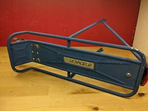 Rare blue Schwinn Voyageur rear touring rack Made in Italy