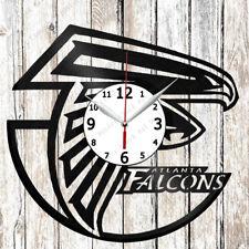 Atlanta Falcons Vinyl Wall Clock Made of Vinyl Record Original gift 2181