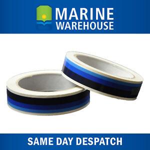 Boat Waterline Tape Dark Blue/ Mid Blue/  Light Blue  - Marine 19mm X 10M 401983