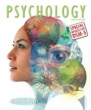 Psychology with Updates on DSM-5 by David G. Myers (2014, Hardcover, 10th Editio