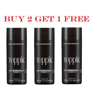 Toppik Hair Building Fibers UNISEX BUY 2 Get 1 Dark Brown/ Black/ Medium Brown