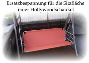Sitz und Rücken Ersatzbespannung f. Hollywoodschaukel