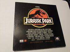 Jurassic Park Letterboxed Edition Box Set (Laserdisc, 1994)