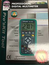 ECLIPSE PRO'S KIT MT-1860 digital multimeter USB CONNECTOR LCD DISPLAY