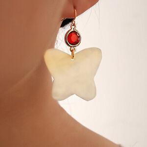Women Charm Crystal Pearl Geometric Ear Stud Drop Earrings Xmas Jewelry Gift Hot