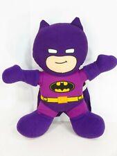 "Batman Plush Purple 12"" Doll DC Super Friends  Toy Factory Stuffed Animal"