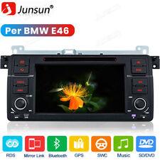 "7"" DVD Navigazione Autoradio GPS MP3 Stereo USB DAB 1DIN Per BMW 3 E46 1998-2006"