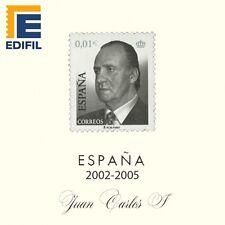 Suplementos  Hojas Juan Carlos I. 2002/2005. Con Estuches Transparentes.