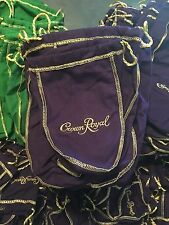 20 Crown Royal Bags Medium 1 Liter 1000 mL New Never Used