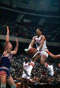 Julius Erving 1981 Philadelphia 76ers NBA Photo Original 35mm Color Negative