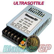ALIMENTATORE SUPER SOTTILE 12V 10W 800mA SMSP singola uscita switching AC 220V