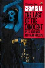 Criminal: The Last of the Innocent #1: Icon Comics (2011) . VF