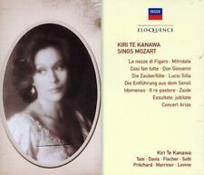 KIRI TE KANAWA Sings Mozart 3CD BRAND NEW Opera Arias Decca Eloquence