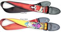 Stagg PinUp Girl PatternTerylene Guitar Strap Leather Ends Width 5cm [EU stock]