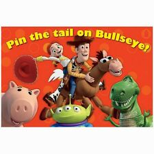 Party Supplies Birthday Toy Story Game Pin the Tale on Bullseye