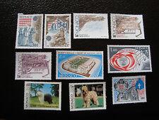 MONACO - timbre yvert et tellier n° 1322 a 1331 n* (A15) stamp