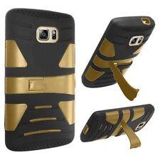 Étuis, housses et coques noirs métalliques Samsung Galaxy S7 pour téléphone mobile et assistant personnel (PDA)