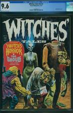 WITCHES TALES VOL 4 # 3 CGC 9.6 OWW  HIGHEST GRADED EERIE PUB HORROR 1972