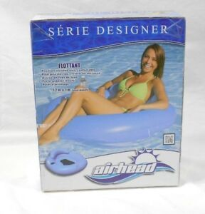 "AIRHEAD DESIGNER SERIES FLOAT, 48"" X 43"" DEFLATED SIZE, NEW"