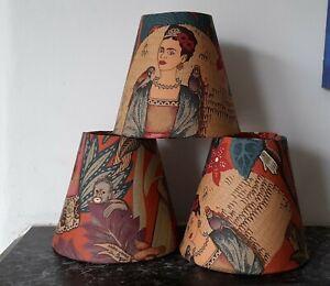 Frida Khalo oriental Candle Clip Lampshade choice 13 cm terracotta