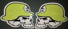 Metal Mulisha Sticker reflektierend 2 Stc. 10 x 9 cm decal Aufkleber