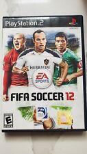 PS2  FIFA Soccer 12 - PlayStation 2  game free shipping!