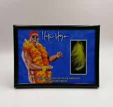 HULK HOGAN RING WORN USED BOA FEATHER PIECE DISPLAY COA WWE WWF WCW NWO