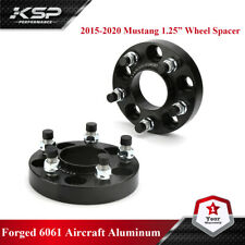 2015 2020 Ford Mustang Black Hubcentric Wheel Spacers Adapters 125 Thick Fits Ford