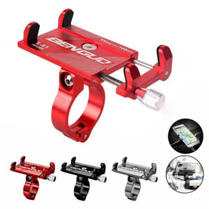 Aluminum Motorcycle Bike Bicycle Holder Mount Handlebar for Cell Phone GPS 2020