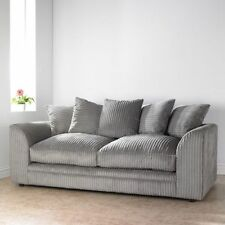 Fabric Striped Double Sofas