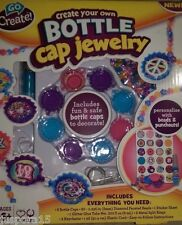 Go Create New Create Your Own Bottle Cap Jewelry