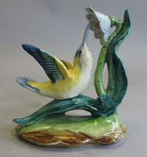 MINT Stangl Art Pottery Bird  HUMMINGBIRD w/ FLOWER  Signed by Artist  #3628