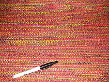 Golding Chenille Red Gold Merlot 4 yard piece of Upholstery Fabric