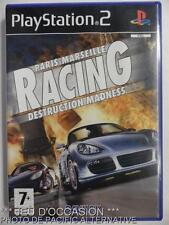 COMPLET Jeu PARIS MARSEILLE RACING DESTRUCTION MADNESS playstation 2 sony PS2