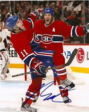 Montreal Canadiens Brendan Gallagher Signed Autographed 8x10 Photo COA AA