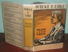 What I Like (in Prose)  SIGNED by author, w/ HANDWRITTEN LETTER first edition