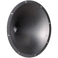 """NEW 8"""" Conical Tweeter Horn Throat.Threaded.Speaker Lens.1"""" inch 1-3/8 18TPI."""