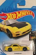 HOT WHEELS 2018 4/10 NIGHTBURNERZ 95 MAZDA RX-7 SPORT CAR RAYS GREDDY 16/365