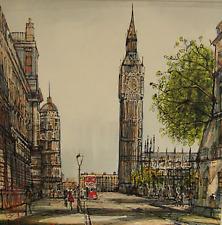 Original painting by Nigel Cooke `Big Ben` London