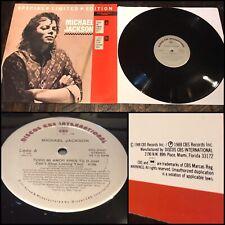 "MICHAEL JACKSON w/ SIEDAH GARRETT Todo Mi Amor Eres Tu 12"" Vinyl EPSL 69007 BAD"