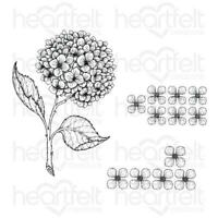 Heartfelt Creations Cottage Garden Collection - Cottage Garden Hydrangea Stamp