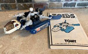 Vintage 1981 ZOIDS Aquadon Tomy Sea Ocean Frog Machine Robot Collectible Toy