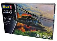 Revell 04984 UH-60A Blackhawk Model Kit Transport Helicopter Scale 1: 100 New
