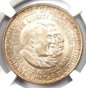 1952 Washington-Carver Silver Half Dollar 50C Coin - NGC MS67 - $1,975 Value!