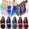 Women Lyrical Dance Dress Sequined Ballet Latin Leotard Skirt Jazz Dance Costume