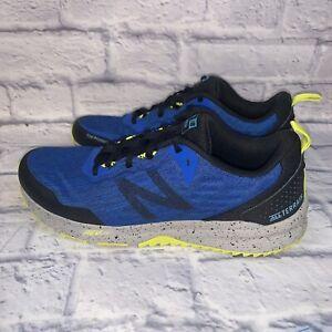 New Balance Nitrel v3 Mens All Terrain Running Shoes Size 9 Blue Black Yellow