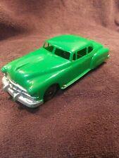 Vintage  Marx 1950's Hard Plastic Friction Pontiac Super 8 Coupe Toy Car