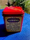 VTG Antique Tin Box Phillips CORONA Ointment   Atlanta dressing lubricant (fh)